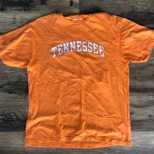 Men's red jacket Tennessee tee size large